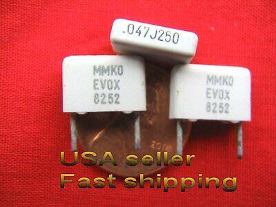 .047uf 100v  metalized film mylar capacitors 12 pcs 0.047uf