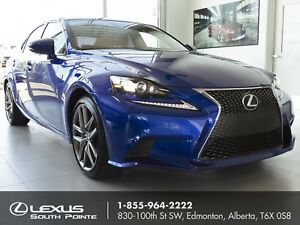 2016 Lexus IS 350 F SPORT 2 w/ moonroof, backup camera and na...