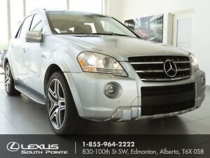 2009 Mercedes-Benz M-Class M63 AMG w/ DVD player, panoramic s...