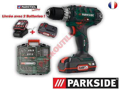 Parkside Juego Taladro-Atornillador Inalámbrico Pabs 20-Li D5, 20V