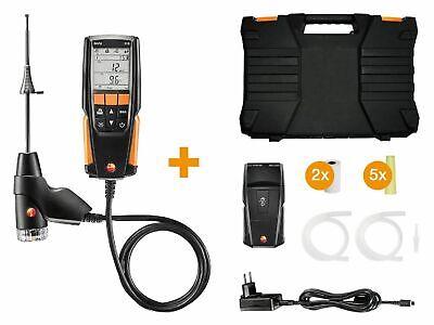 Testo 0563 3110 310 Combustion Analyzer Kit With Printer