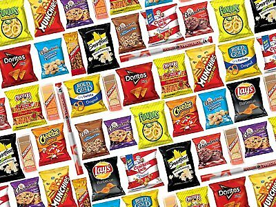 Ultimate Snack Care Package, Bundle of Chips, Cookies, Crackers & More, 40