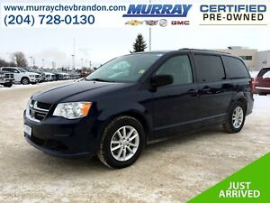 2015 Dodge Grand Caravan SXT FWD Stow-N-Go *DVD* *Backup Camera*