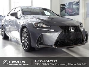 2017 Lexus IS 300 F SPORT Series 2 w/ heated steering wheel,...