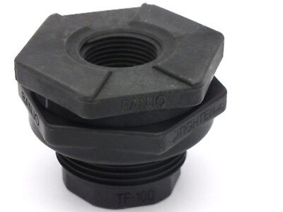 Threaded Bulkhead -  Bulkhead Tank Fitting 1