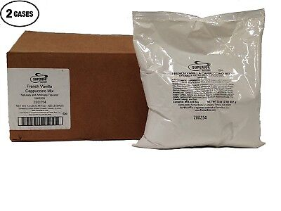 French Vanilla Cappuccino Mix 12 Bags2 Lbs Each By Farmer Brossuperior