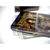 10 Clear DVD Movie Case Box Protectors - Custom Fit - Acid-Free!
