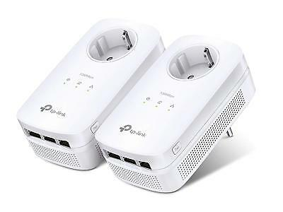 TP-LINK TL-PA8030P Kit AV1300 - 2 x Powerline Adapter D-LAN mit 1300 Mbps 6 Port