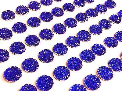 CB69RB- 60 Selbstklebend KÖNIGSBLAU Strassstein Blase-Stick auf Edelsteine