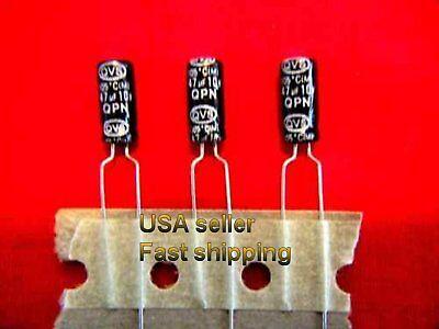12 Pcs  -  47uf 10v  85c Radial Electrolytic Capacitors