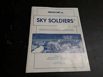 Sky Soldiers by ROMSTAR Installation Manual