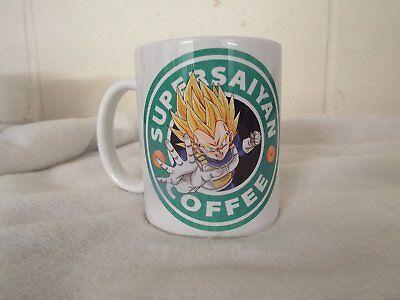 Vegita Coffee 11oz ceramic mug birthday xmas dragon ball super fathers day anime (Fathers Day Mug)