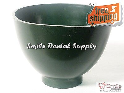 Dental Lab Flexible Rubber Impression Mixing Alginate Bowl - All Sizes