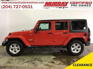 2014 Jeep WRANGLER UNLIMITED Sahara 4WD Hard Top Convertible *Na