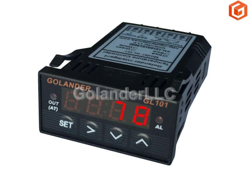 Universal 1/32DIN Digital  F/C PID Temperature Controller, Red