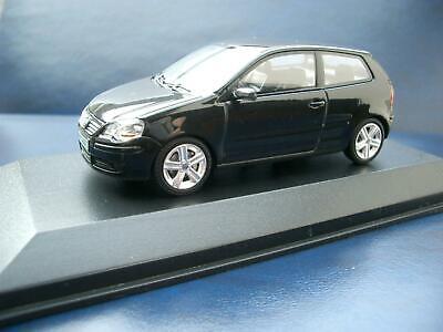 + VOLKSWAGEN VW Polo 4 9N3 schwarz von Minichamps 1:43 na sprzedaż  Wysyłka do Poland