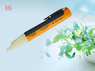 Ac Voltage Detector 90v To 1000v Electrical Live Circuit Tester Pen Stick Probe