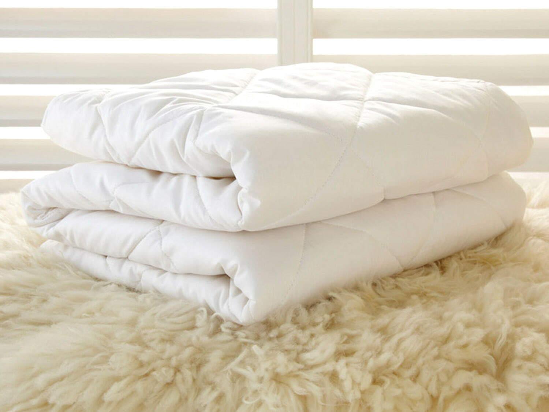 washable crib wool comforter natural toddler blanket