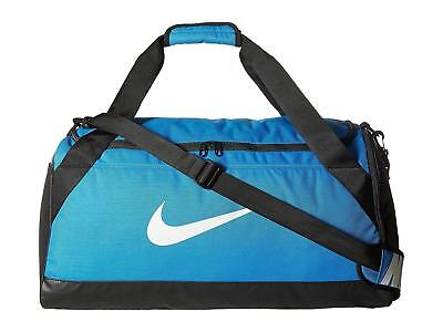 2ea97f93cd Roll over image to zoom in NIKE Nike Brasilia (Small) Training Duffel Bag  Blue