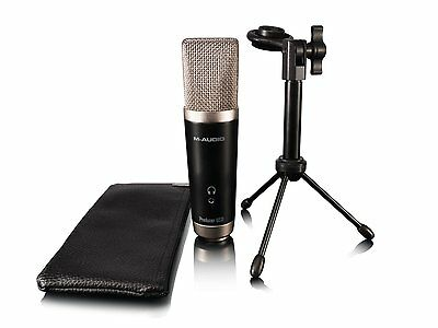 M-Audio AVID*Vocal Studio+Warranty*Digital Recording Bundle USB Condenser Mic