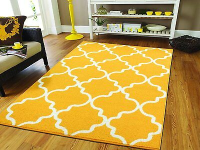 Modern Area Rugs 8x10 Yellow Moroccan Rug 5x8 Area Rug Set B