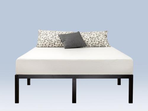 Zinus 14 Inch Classic Metal Platform Bed with Steel Slat Sup
