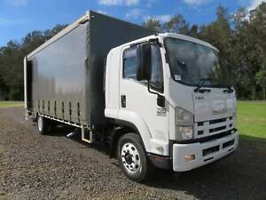 2012 Isuzu FSR700 / 850 - CURTAINSIDE TRUCK   TAILGATE LOADER North Macksville Nambucca Area Preview