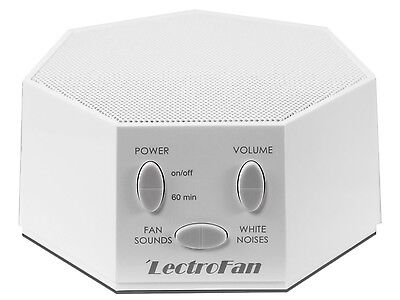 LectroFan - Fan Sound and White Noise Machine   NEW