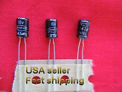 12 Pcs - 47uf 16v  Electrolytic Capacitors
