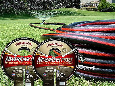 NeverKink 8844-100 Series 4000 Commercial Duty Pro Garden Hose, 5/8-Inch by (5 8 Neverkink Pro Commercial Duty Garden Hose)