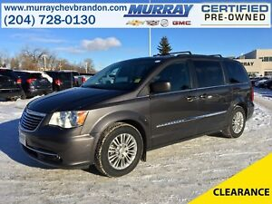 2016 Chrysler Town & Country Touring-L FWD Stow-N-Go *Backup Cam