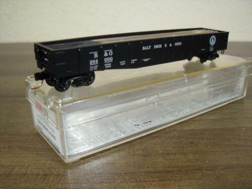 MicroTrains 105030 50 'Steel Side 14 Panel  Gondola Baltimore & Ohio Spur N