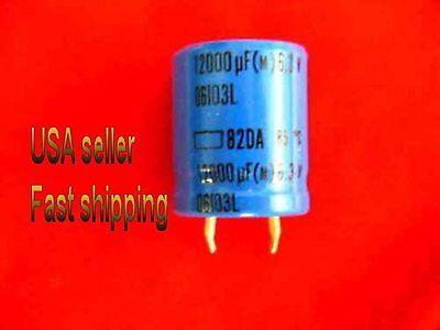 9 Pcs  -  12000uf  6.3v  Electrolytic Capacitors Free Shipping