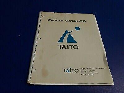 Taito Video Arcade Games Parts Catalog