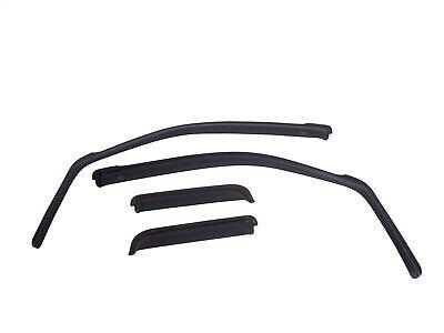 EGR 570031 SlimLine In-Channel WindowVisors Set of 4 Fits 09-12 Traverse