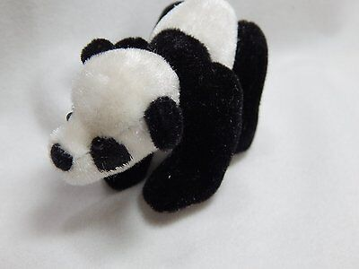 "World of Miniature Bears 2.75""x2"" Plush Panda Lala #735 Collectible Bear"