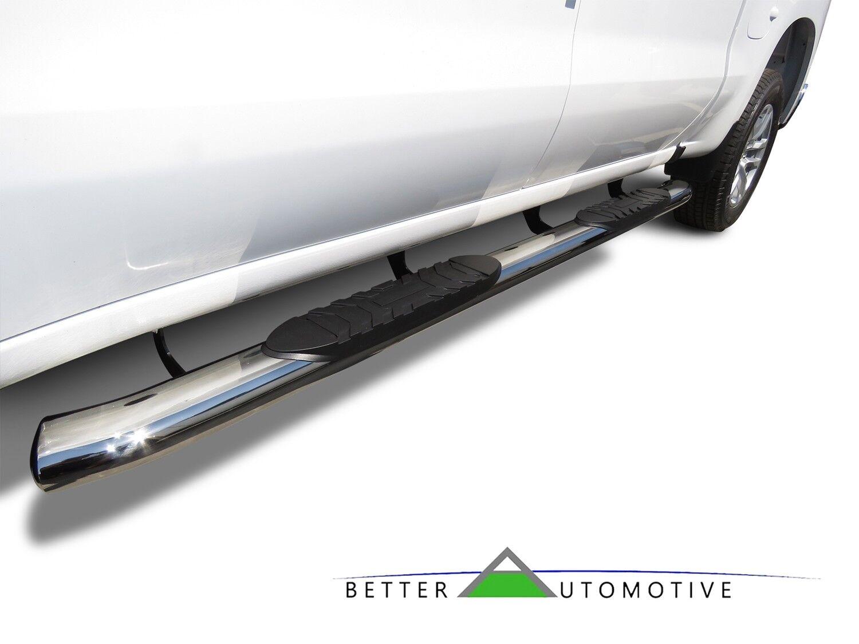 """5"""" Chrome Side Steps for 2019-2020 Silverado/Sierra 1500 ..."""