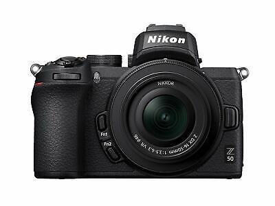 Nikon Z50 Mirrorless Digital Camera with 16-50mm Lens (Intl Model)