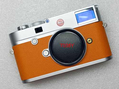 Leica M10-R replacement leatherette cover precisely cut self-adhesive!