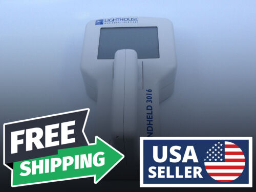WORKING   Lighthouse Handheld 3016 Airborne Particle Counter