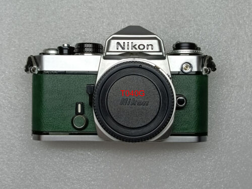 Nikon FE replacement leatherette cover pre-cut  self-adhesive!