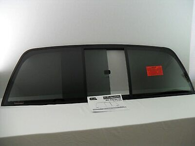 Fits 2000-2006 Toyota Tundra Back Sliding Window Glass Rear Slider NEW