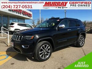 2018 Jeep Grand Cherokee Limited 4WD *Selec-Terrain* *ParkSense