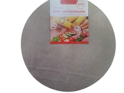 Grillmatte Backmatte rund ca. 50 cm für Grillrost Schwenkgrill Gasgrill