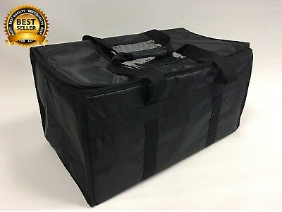 Extra Large Insulated Thermal Take Away Food Delivery Bags T8 Plastic Sleeves