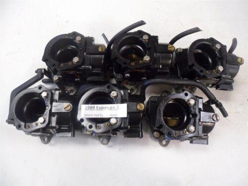 1989 Evinrude 200 Carburetors