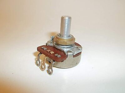 5 Pcs 10k Ohm Potentiometer Audio Taper Pot 14 Shaft 24mm 1377802 Fs