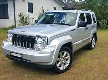 2011 Jeep Cherokee Limited Wagon - Silver, Excellent Condition. Macquarie Fields Campbelltown Area Preview