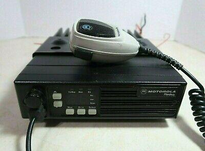 Motorola Radius Low Band Vhf Radio D51lra9p34ak 42-50 Mhz 60 Watts