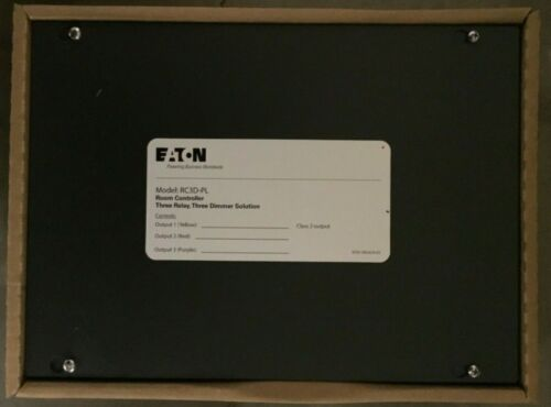 EATON RC3D-PL ROOM CONTROLLER 3 RELAY 3 DIMMER